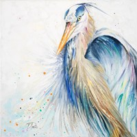 New Blue Heron II Fine Art Print