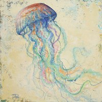 Creatures of the Ocean I Fine Art Print