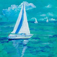 Regatta Winds I Fine Art Print
