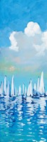 Regatta On Sea II Fine Art Print