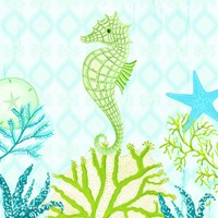 Seahorse Reef II Fine Art Print