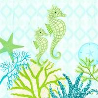 Seahorse Reef I Fine Art Print