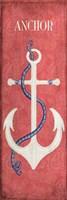 Oars & Anchors I Fine Art Print