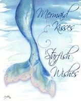 Mermaid Tail I (kisses and wishes) Fine Art Print