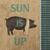 Rise & Shine Farm Fresh I Fine Art Print