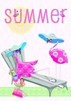 Flamingo Summer I Fine Art Print