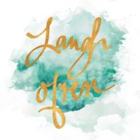 Laugh & Shine II Fine Art Print
