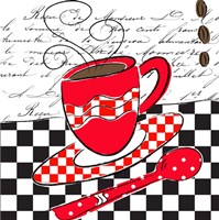 French Cafe Delight II Fine Art Print