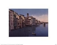 "Firenze, Ponte S.Trinita by Linda Stubbs - 10"" x 8"""