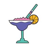 Tropical Drinks I Fine Art Print