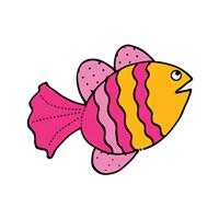 Whimsical Sea Creatures I Fine Art Print
