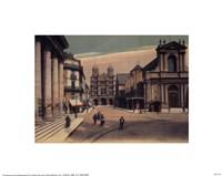 "Dijon, la Place Saintetienne by Linda Stubbs - 10"" x 8"", FulcrumGallery.com brand"