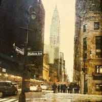 New York Streets Fine Art Print
