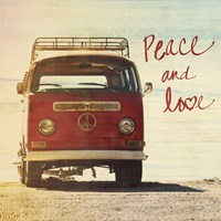 Peace and Love Fine Art Print