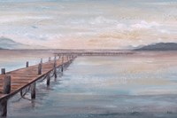 Calm Placid Lake Fine Art Print