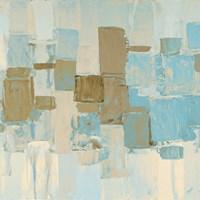 Muted Rhizome Square II Fine Art Print