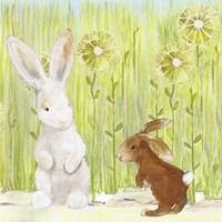 The Bunnies II Fine Art Print