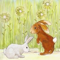 The Bunnies I Fine Art Print