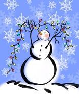 Silly Snowmen I Fine Art Print