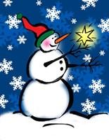 Silly Snowmen II Fine Art Print