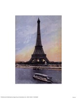"Paris, Eiffel Tower by Linda Stubbs - 8"" x 10"""