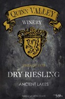 Still Life Wine Label IV Fine Art Print