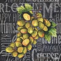 Wine Grapes I Fine Art Print
