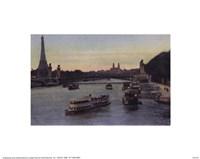 """Paris du Pont de la Concorde by Linda Stubbs - 10"""" x 8"""""""
