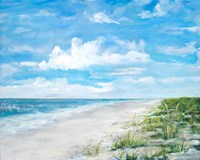 Day At The Beach Fine Art Print