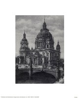 Berlin Dome Framed Print