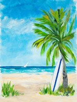 Tropical Surf I Fine Art Print
