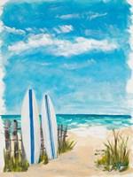 Tropical Surf II Fine Art Print