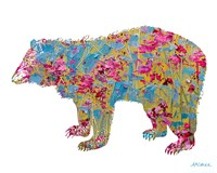 Colorful Bear Fine Art Print