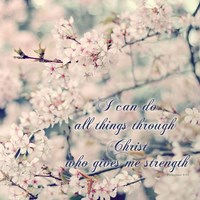 Do All Things With Christ Fine Art Print