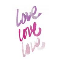 Love Times 3 Fine Art Print