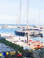 Watercolor Naples Fine Art Print