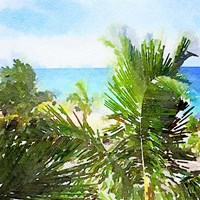 Watercolor Vero Beach Fine Art Print