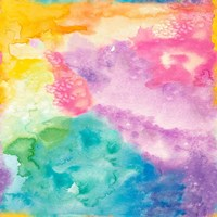 Rainbow Watercolor Fine Art Print