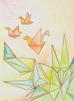 Origami Cranes Fine Art Print