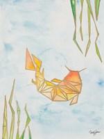 Origami Koi Fine Art Print