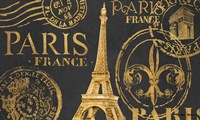 Letters from Paris II Fine Art Print