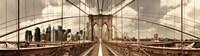 Brooklyn Bridge (sepia) Fine Art Print