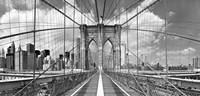 Brooklyn Bridge BW Fine Art Print