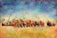 Horse Herd Fine Art Print