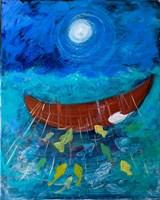 Miraculous Net of Fish Fine Art Print