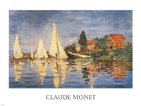 Regatta at Argenteuil Fine Art Print