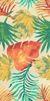 Havana Palm Pattern Fine Art Print