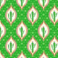 Chili Fiesta Pattern I Framed Print