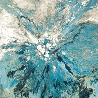 The Teal Sea Fine Art Print
