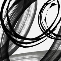 Black and White Pop I Framed Print